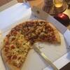 ドミノピザを始めて食べました