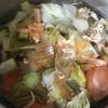野菜くずスープと切り干し大根