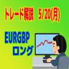 【トレード解説】5/20(月)のユーロポンド(22:07~25:04)【MTCB】