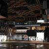 夜の長岡市役所を写真に撮ってきた【目を引くデザインの建物:アオーレ長岡】