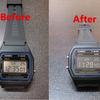 腕時計を反転液晶に改造【チープカシオ】