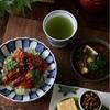 鰻と胡瓜で爽やか寿司