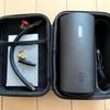 ポータブル電動エアコンプレッサー「MOJIETU Lightning-A Smart & Portable Tire Inflator」を買った