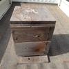 待ち箱 周りは山 Bees residential box