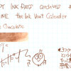 #0914 DIAMINE the Ink Vent Calender Triple Chocolate