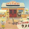【あつ森】たぬき商店周りのレイアウト~ポップで可愛い島の売店~