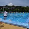 水泳大会に出ました。
