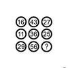 【算数パズル】ランダムに並ぶ9つの数字。その中のハテナにはどんな数字が入っちゃう??