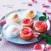 アップル&ローゼス 満開の薔薇ドルチェセット(タルト3個とジェラート3種セット)