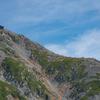 紅葉の立山(3):室堂から見た雄山
