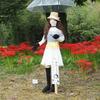 安室奈美恵かかしも登場した今年の「かかし祭」
