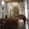 サン・セバスティアーノ聖堂内部(アッピア街道沿い、ローマ)