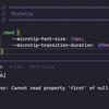 Visual Studio Code の Csscomb がカスタムプロパティを含む CSS でエラーになる