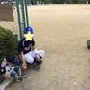父の日☆草野球観戦へ