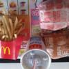 お昼はバリューセット+マックポーク
