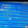 東京五輪 競泳でのスピード表示