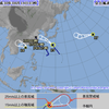 【台風情報】ミッドウェー諸島近海にあったハリケーンが台風17号に!2015年以来3年ぶりの越境台風となったが、日本へ到達するまでには熱帯低気圧になる見込み!!
