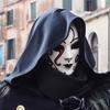 真冬の幻想。イタリアのコスプレ祭り、ヴェネツィアのカーニバル