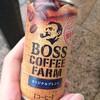 缶コーヒー ボス コーヒーファーム オリジナルブレンドを飲んでみた