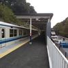 新駅と廃線跡