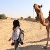 ジャイサルメールでキャメルツアー 2泊3日の砂漠の旅路