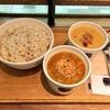 スープの美術館ゴッホの麦畑のスープとゴーギャンの麦畑のスープ。スープストックトーキョーでは25日までゴッホとゴーギャン展に合わせて2人の作家をイメージしてつくられた新作スープが登場していました!