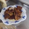 幸運な病のレシピ( 819 )夜:ブタバラ軟骨のスペアリブ風、湯豆腐(ネギ味噌)、汁