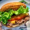 タスマニア産牛を使った100%豪州ハンバーガー