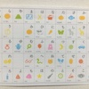 インテリアになじむ「ひらがな表・九九表・日本地図」をキャンドゥでみつけました。