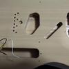テレキャスターをばらす - 導電塗装 -