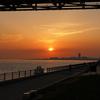 【神戸の夕陽スポット】アジュール舞子,舞子公園から見る夕陽夕焼けが最高すぎる