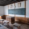 旧喰丸小学校。幾たびの解体の危機を乗り越えた、奥会津の雪国の木造校舎。福島県昭和村