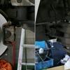 ブレーキパッド&ローター交換(BMW E90)