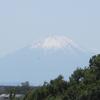 六月の富士山