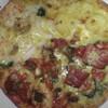 ドミノ・ピザで、お気に入りメニューのクワトロ・プレミアを注文