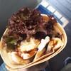 神戸元町ハハハクレープ!照焼チキン+たまごチーズのうまうま^^