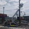 三重県津市のポールサイン