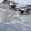 金沢城石川門雪景色