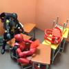 学校の机と椅子と鞄 ・定礎・伝説の宝箱Ⅱ