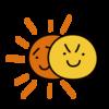 3年ぶりに部分日食だというが、曇っている。少しでも変化があるの?