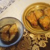 ピーマンの肉詰め、茄子田楽、豚肉炒め、玉子焼き