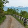 滑る金ヶ岳林道と悪路の松平林道
