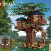 レゴ アイデアから ツリーハウス 21318 が登場したよ。