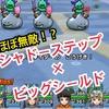 【ドラクエウォーク】シャドーステップ×ビッグシールド検証! 同時に使えばほぼ無敵!?
