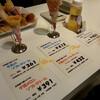 夕張メロンと牛乳ソフト@北海道物産展 大阪タカシマヤ