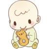 育児サークル5回目(生後6ヶ月)