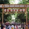 くらやみ祭にてPENTAX K-1の高感度撮影テスト