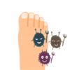 足の指が太いと水虫になりやすいって本当!?