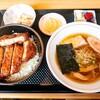 お食事処まり@七日町 ソースカツ丼セット