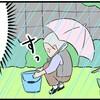 【漫画】祖母と豪雨~偽りのラザニア~